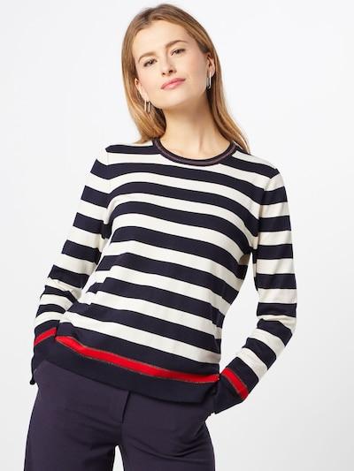 BRAX Pullover 'LIZ' in marine / naturweiß, Modelansicht