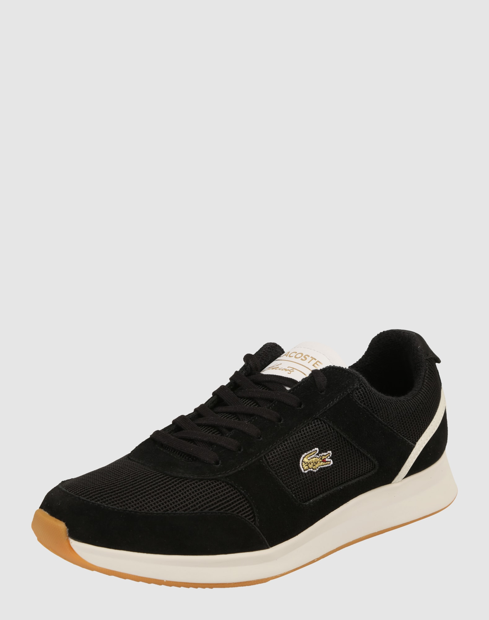 lacoste sneaker 39 jogguer 39 in schwarz about you. Black Bedroom Furniture Sets. Home Design Ideas