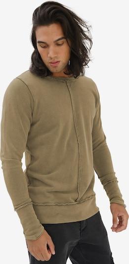 trueprodigy Sweatshirt 'Fray' in khaki, Produktansicht