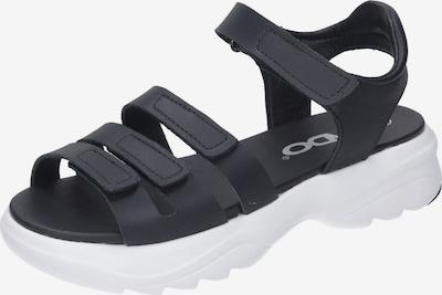 Vado Sandalen in schwarz, Produktansicht