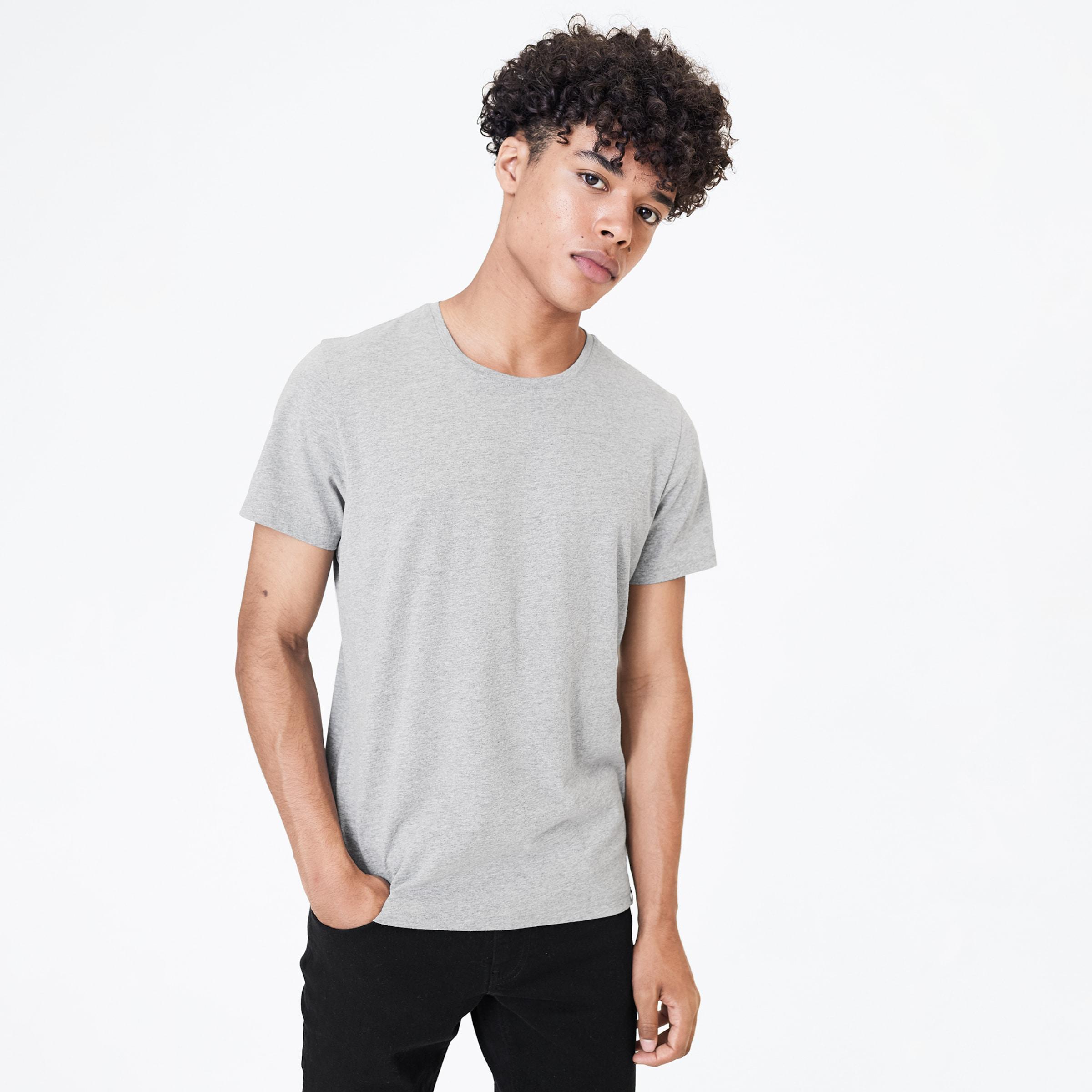Harlem Soul T-Shirt in graumeliert Melange I00045236BLA0061L