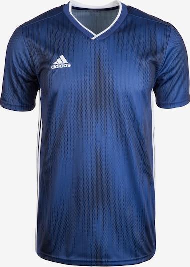 ADIDAS PERFORMANCE Funktionsshirt 'Tiro 19' in dunkelblau / weiß, Produktansicht