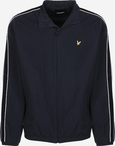 Lyle & Scott Trainingsjacke ' Taped Track ' in navy, Produktansicht
