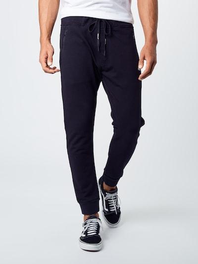 REPLAY Hose in schwarz, Modelansicht
