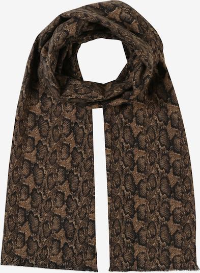 MANGO Schal in braun / schwarz, Produktansicht