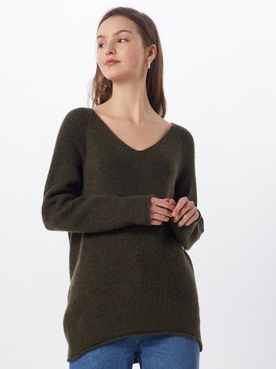 ABOUT YOU Pullover 'Laren' in dunkelgrün, Modelansicht