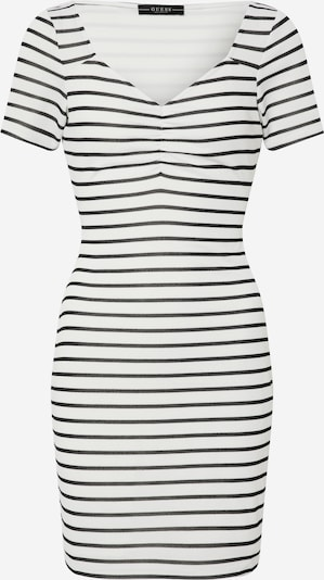 GUESS Robe 'ENRIQUETA DRESS' en noir / blanc, Vue avec produit