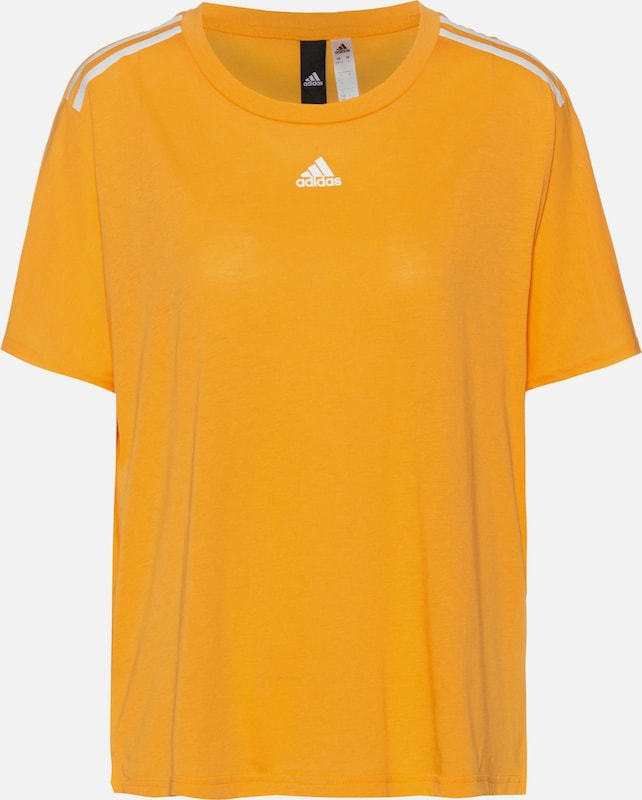 ADIDAS PERFORMANCE T-Shirt in goldgelb, Produktansicht