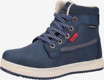 Chaussure basse KICKERS en bleu