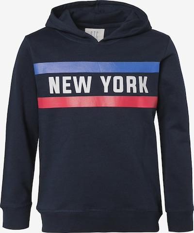 STACCATO Sweatshirt in blau / nachtblau / rot / weiß, Produktansicht