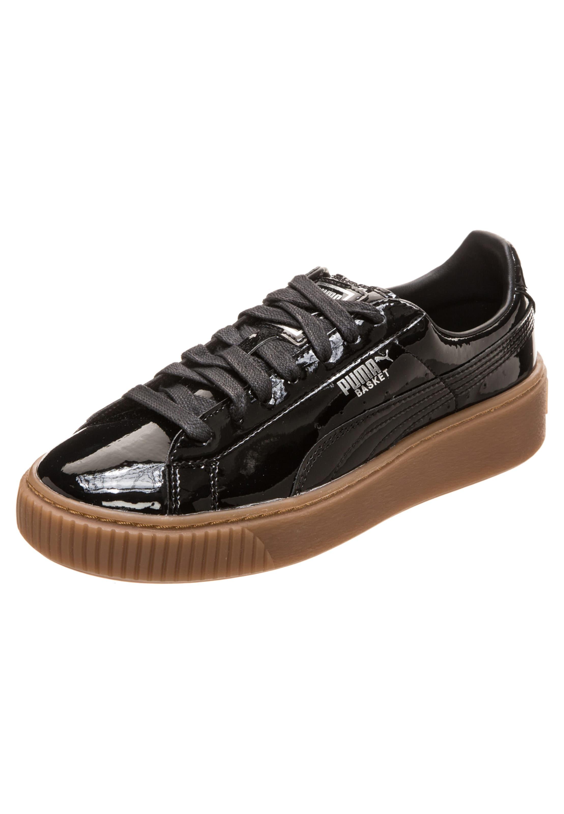 PUMA Sneaker  Basket Platform Patent