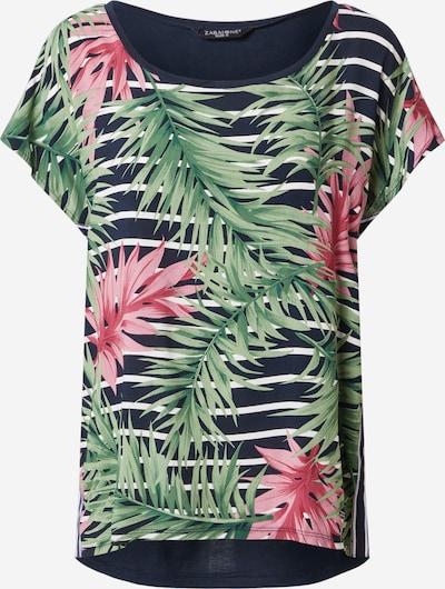 ZABAIONE Shirt 'Tracy' in navy / grün / pink / weiß, Produktansicht