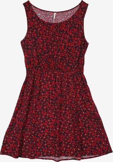 KIDS ONLY Obleka 'KONELLA S/L DRESS WVN' | temno modra / rdeča barva, Prikaz izdelka