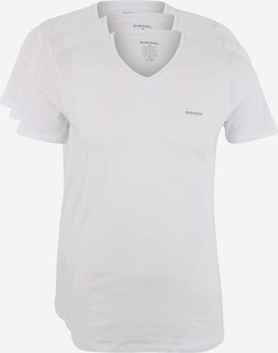 DIESEL Shirt 'UMTEE-JAKE' in weiß, Produktansicht