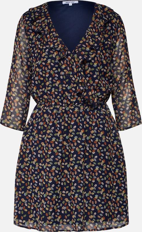 chemise En Robe Bleu 'paula' MarineMélange Couleurs De QdxshtrC