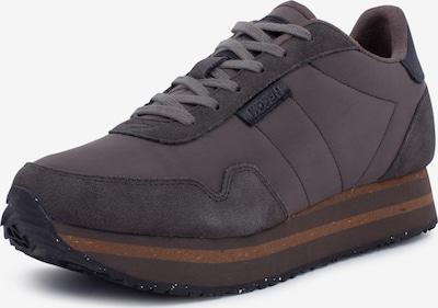 WODEN Sneakers ' Nora II Plateau ' in dunkelbraun, Produktansicht