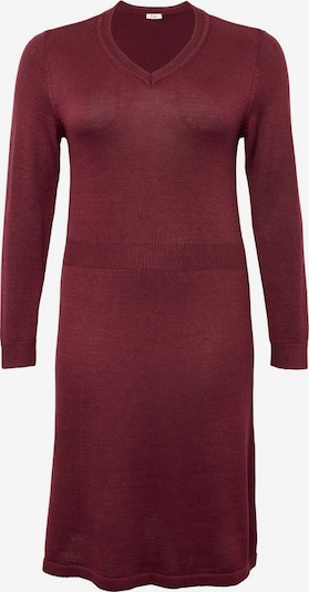 SHEEGO Kleid in rubinrot, Produktansicht