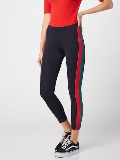 Urban Classics Legíny - mätová / červená / čierna, Model/-ka