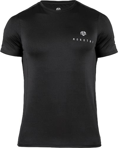 MOROTAI Funkcionalna majica | črna / bela barva, Prikaz izdelka