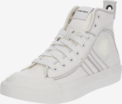 fekete / fehér DIESEL Magas szárú edzőcipők 'S-Astico Mid Lace W', Termék nézet