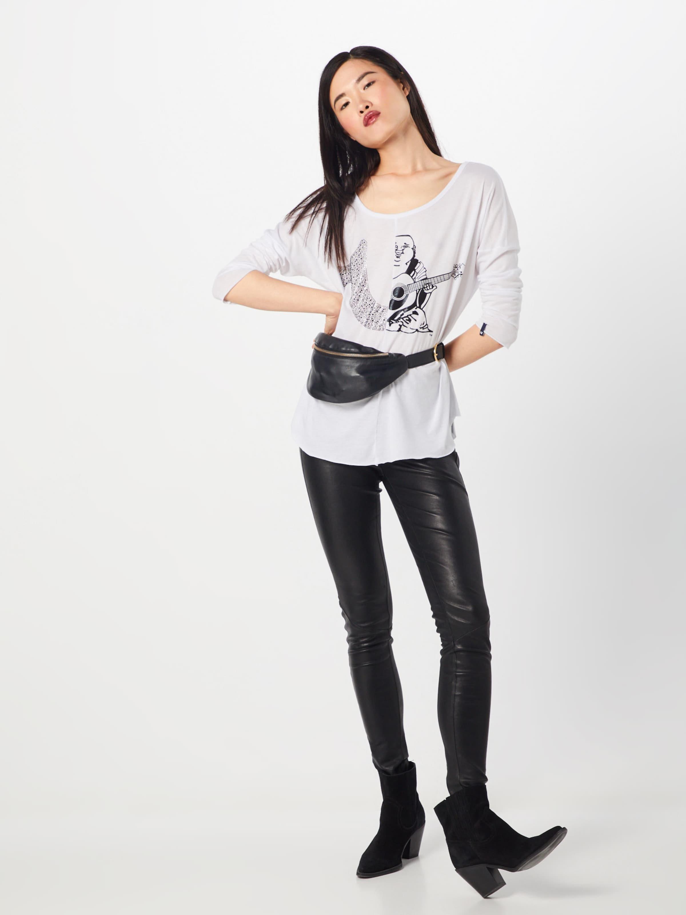 Religion shirt T True Ls' Logo En '2 Blanc WED92IHY