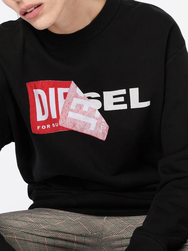 DIESEL Sweatshirt mit Logo
