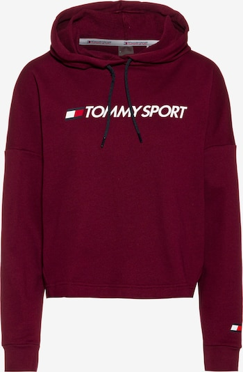 Tommy Sport Sport-Sweatshirt in bordeaux, Produktansicht