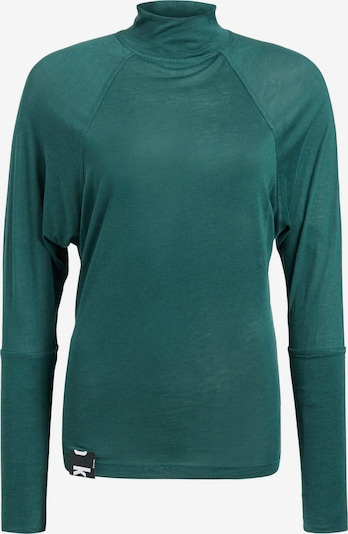 khujo Longsleeve 'Shedi' in smaragd, Produktansicht