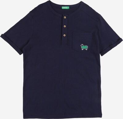 UNITED COLORS OF BENETTON Shirt in dunkelblau, Produktansicht