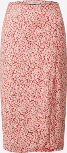 Abercrombie & Fitch Rock in rot / weiß, Produktansicht