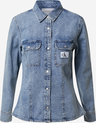 Calvin Klein Jeans Halenka 'ARCHIVE LEAN' - modrá džínovina, Produkt