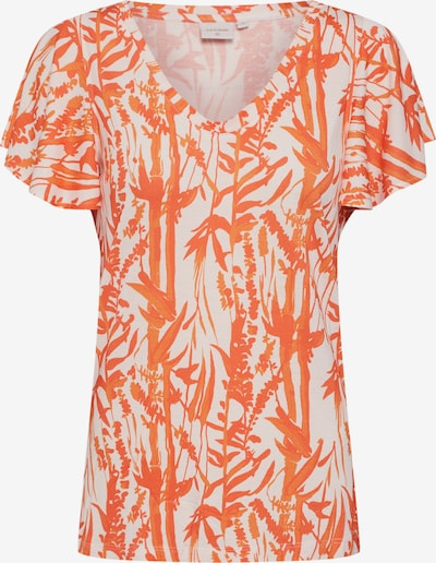 Cream Shirt 'Ninna' in orange / weiß, Produktansicht