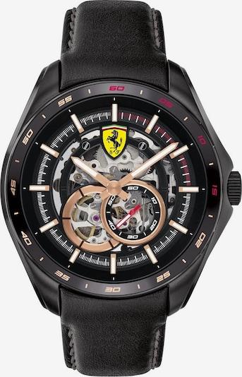 Scuderia Ferrari Uhr in bronze / schwarz / weiß, Produktansicht