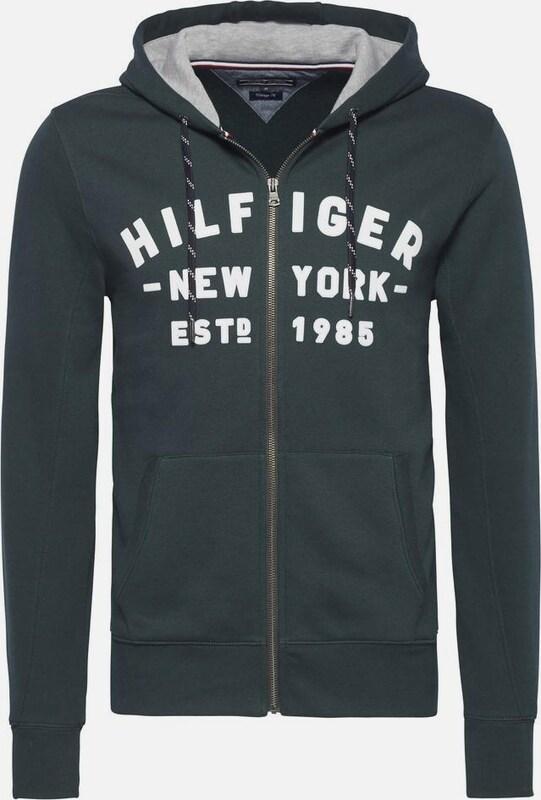 TOMMY HILFIGER Sweatshirt PANDO HDD Z-THRU L/S VF