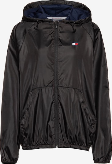 Tommy Sport Kapuzenjacke in schwarz, Produktansicht