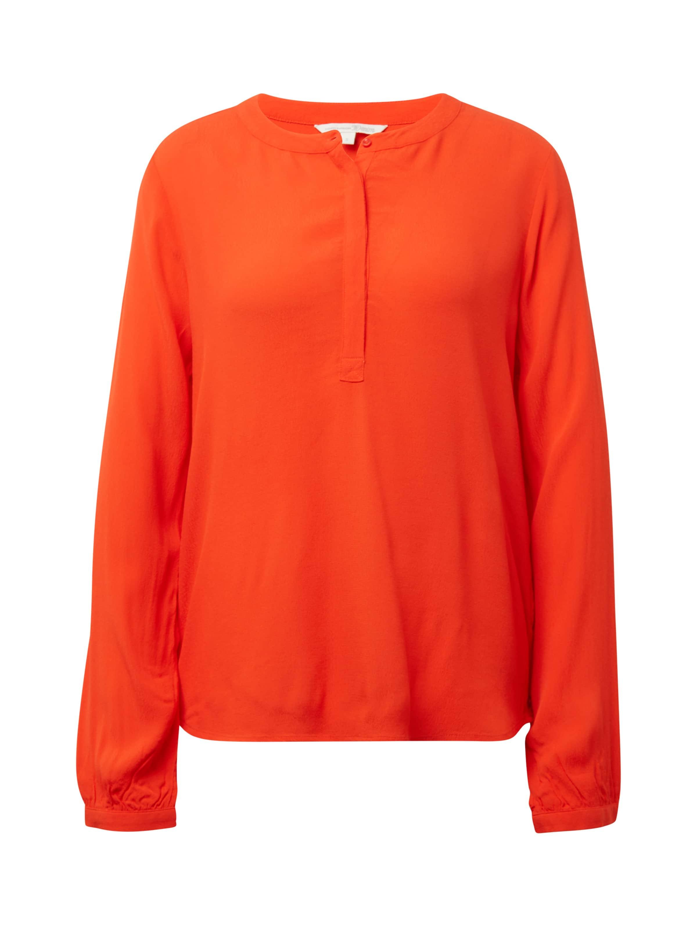 In Tunikabluse Tailor Orangerot Tom Denim EeDW2IbHY9