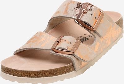BIRKENSTOCK Pantofle 'Arizona' - béžová / bronzová / broskvová / starorůžová, Produkt