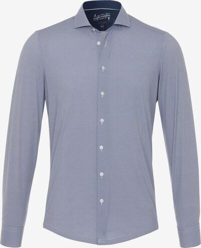 PURE Hemd in taubenblau / weiß, Produktansicht