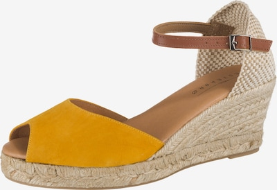 Paul Vesterbro Sandaletten in senf, Produktansicht