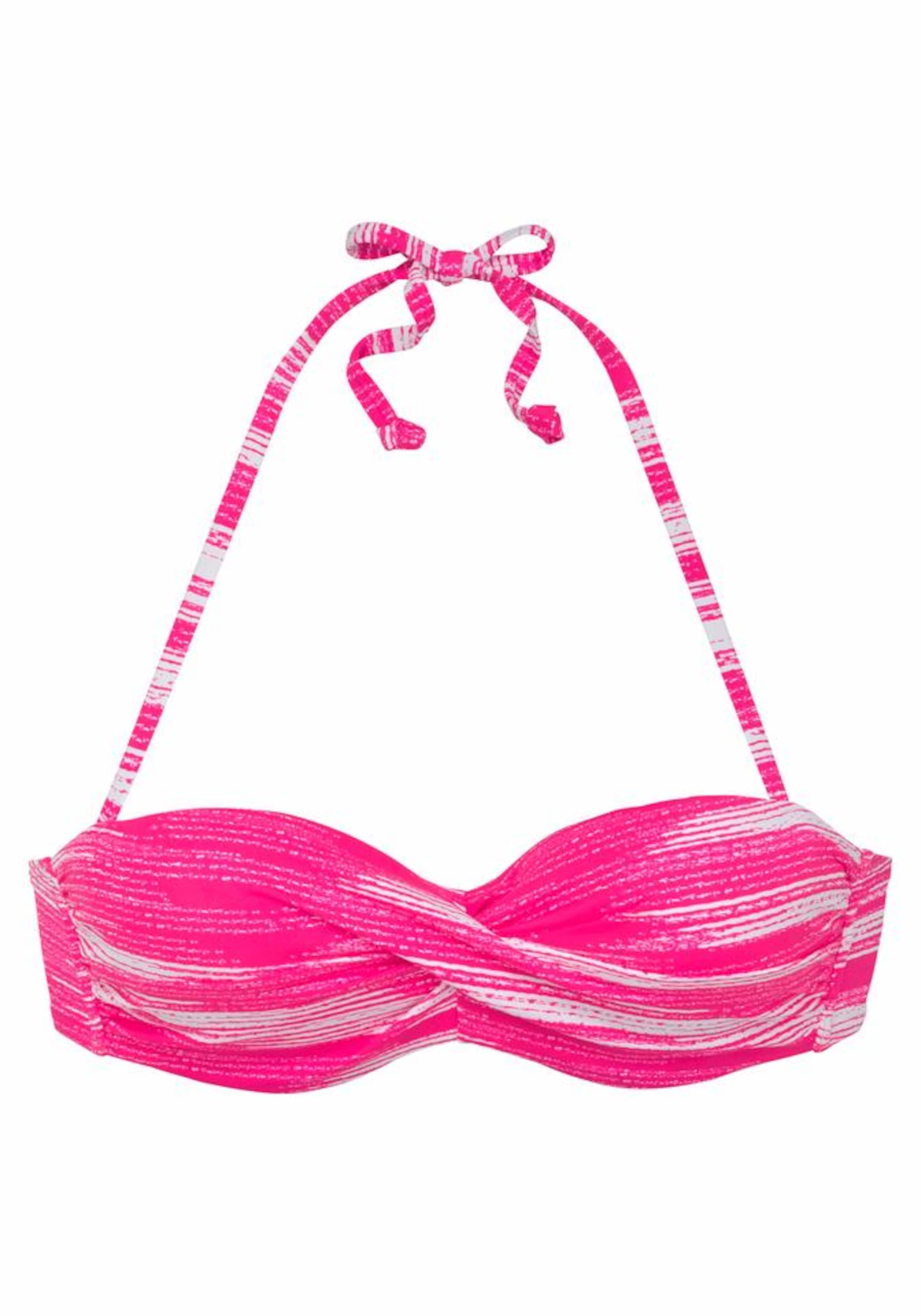 Sunseeker In Bügel top PinkWeiß 'physical' bandeau wkn0OP