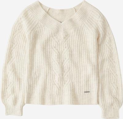 Abercrombie & Fitch Sweter 'XM19-OTS SWEATER 3CC' w kolorze pełnobiałym, Podgląd produktu