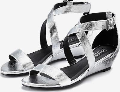 LASCANA Sandalette in silber, Produktansicht