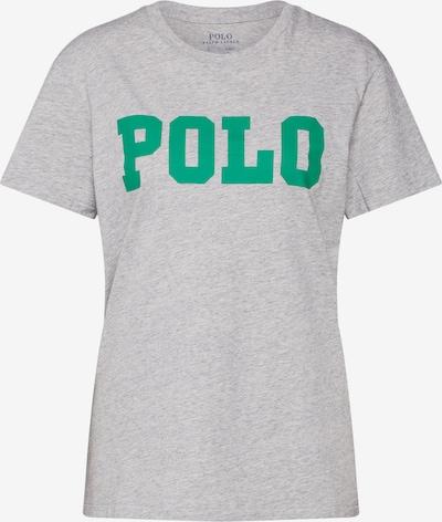 POLO RALPH LAUREN T-Shirt 'BIG POLO' in grau / grün, Produktansicht