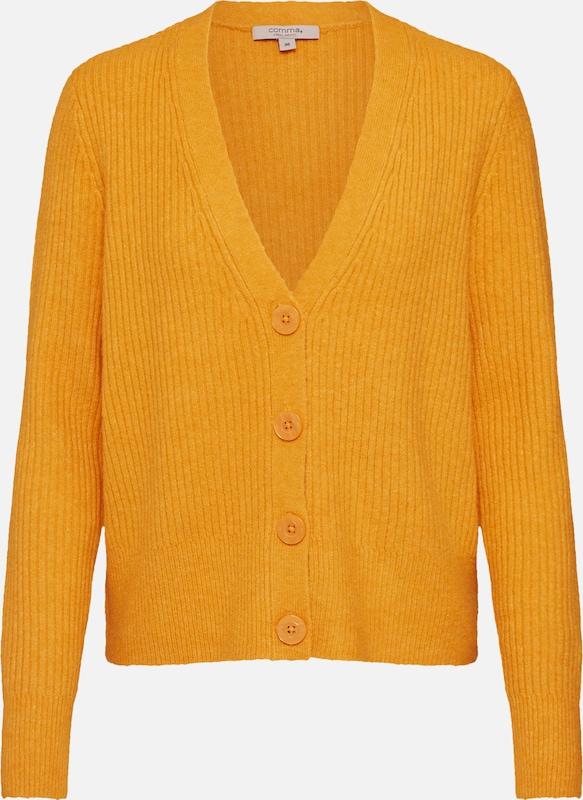 COMMA Strickjacke in beige | ABOUT YOU