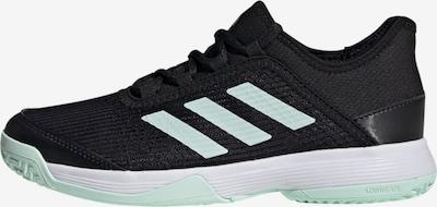 ADIDAS PERFORMANCE Tennisschuh in mint / schwarz / weiß: Frontalansicht