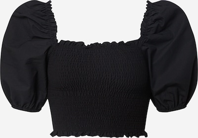 Miss Selfridge T-shirt en noir, Vue avec produit