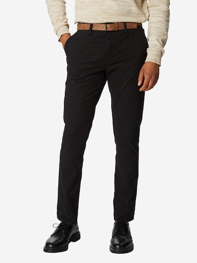 TOM TAILOR DENIM Chinohose in schwarz, Modelansicht