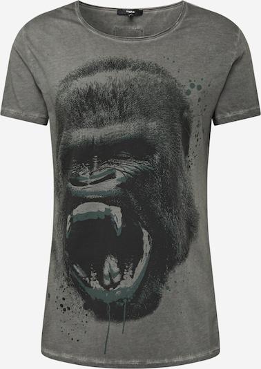 tigha Shirt 'Gorilla Msn' in de kleur Grijs / Zwart, Productweergave