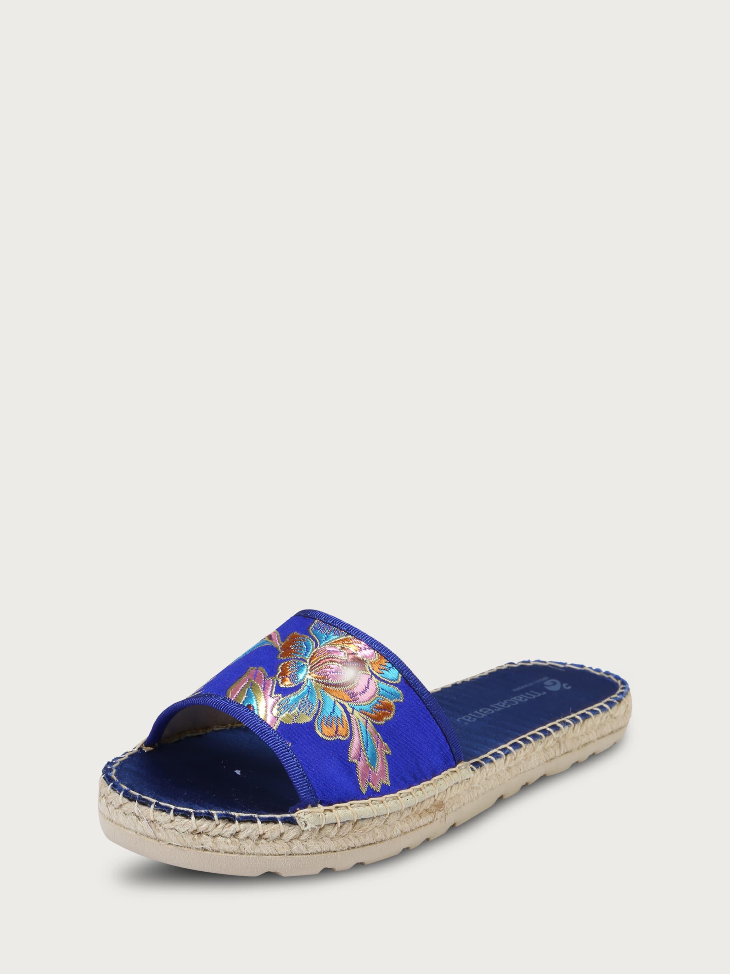 MACARENA Pantoletten Rubi 3 Verschleißfeste billige Schuhe