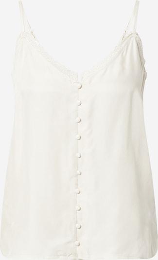 VILA Haut 'Khloe' en blanc naturel, Vue avec produit